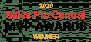 2020 Sales Pro Central MVP Award Winner