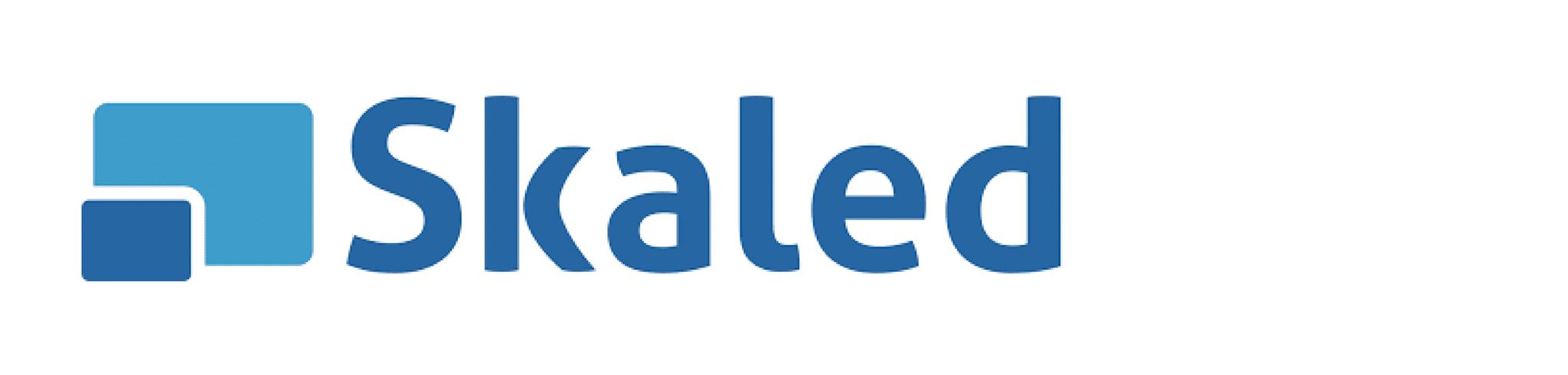 Skaled brand logo